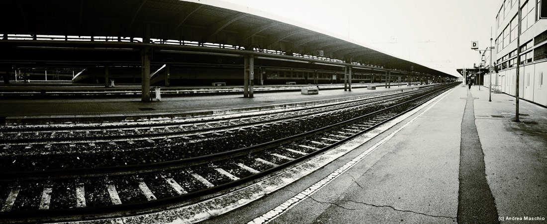 train station panorama